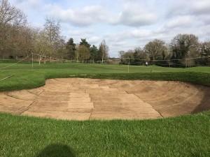 Eaton Golf bunkers